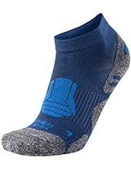 XAED, calzini sportivi da uomo, colore blu, taglia 42/44