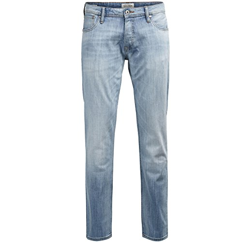Jack & Jones Jeans Herren Mike Glenn TIM Hose Blau Black Schwarz Elasthan Knienaht Destroyed Neu Tim 987