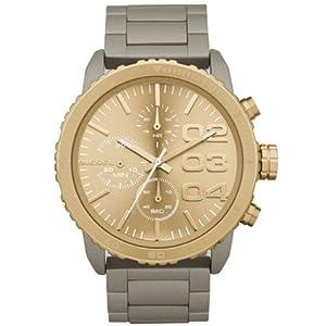 Reloj Diesel DZ5303 de cuarzo para mujer con correa de acero inoxidable, color dorado de Diesel