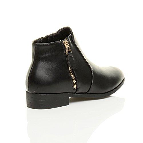 Ajvani, Stivali donna Opaco nero senza borchia