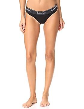 Calvin Klein Para Mujer Modern Cotton Thong Panty Bragas Tipo Tanga - Multi - M