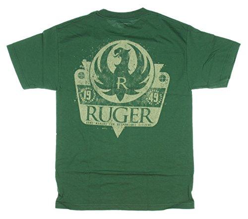 Ruger-SS-Maglietta da adulto, colore: rosso Foresta X-Large - Ruger Revolver