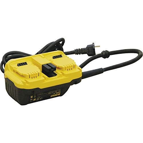 Dewalt DCB500-QS Adapteur hybride 54V Pour outils Netzadapter DCB 500, 54 V, FLEXVOLT, Jaune ; Noir - Bohrmaschine Mit Dewalt Batterien