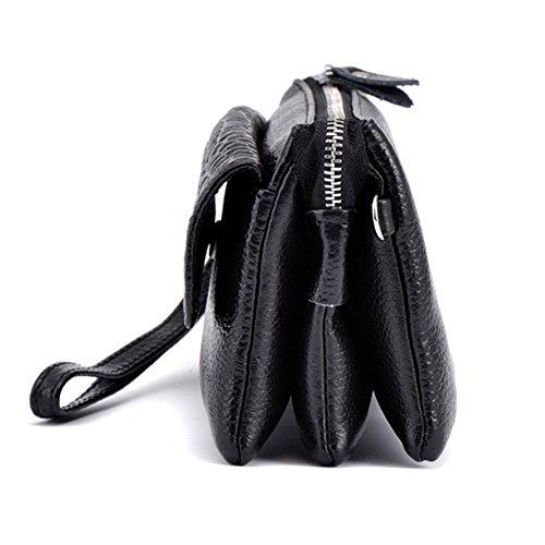 GSPStyle002238-P - Borsa a spalla donna Nero (nero)