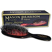 Mason Pearson BN4 Small Pocket Boar Bristle Nylon Tufts Hair