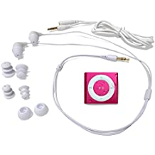 Underwater Audio - iPod Shuffle Impermeable y Sumergible (Waterproof iPod), Paquete con Auriculares Swimbuds (Rosa)