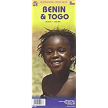 Benin & Togo Travel Map