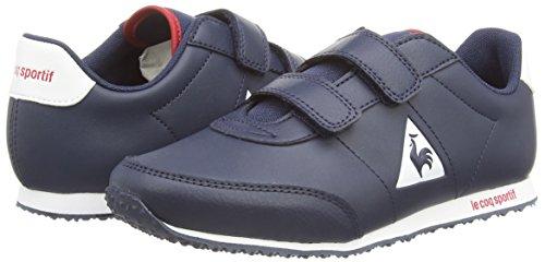 Le Coq Sportif Racerone Ps Syn Lea, Sneakers Basses Mixte enfant Bleu
