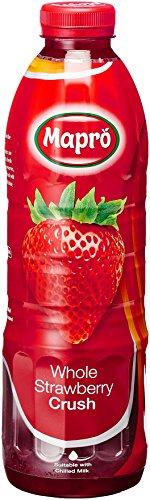 Mapro Whole Strawberry Crush, 1l