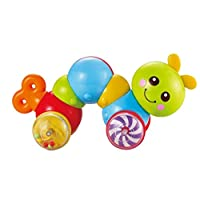 TOYMYTOY Inchworm Toy Press and Crawl Toy Caterpillar Baby Toy for Toddler Kids (Random Color