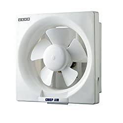 (CERTIFIED REFURBISHED) Usha Crisp Air 150mm Exhaust Fan (White)