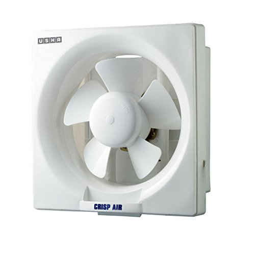 (CERTIFIED REFURBISHED) Usha Crisp Air 250mm Exhaust Fan (Pearl White)
