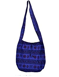 Gaurapakhi Rajasthani Collection And Ethnic Cotton Handmade Handbag With Multicolor For Women's - B07D7JGN4F