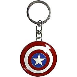 ABYstyle Marvel Llavero 3d–Escudo Capitán América, abykey201