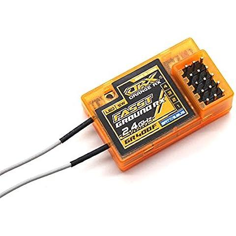 HobbyKing - OrangeRx GR400F Futaba FASST Compatible 4Ch 2.4GHz Ground Receiver - DIY Maker Booole