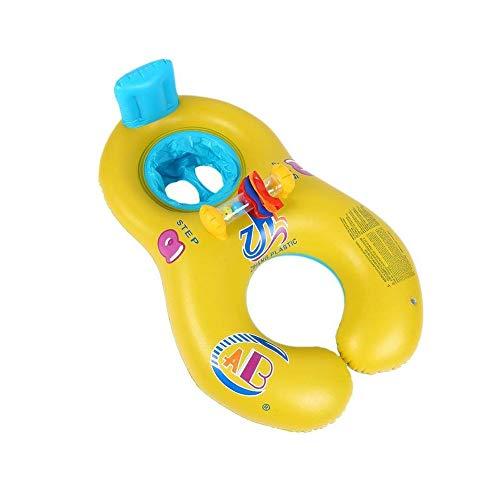 OOFAY Sicherer Schwimmring Für Baby-Bad Hals Float Mutter-Kind-Spiel Schwimmring