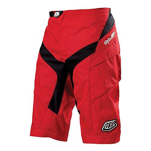 Troy Lee Designs, Pantaloni corti da ciclismo Uomo, Rosso (Rot), 36