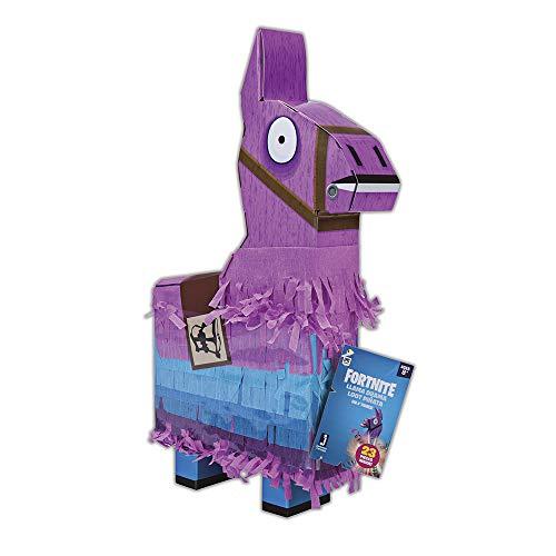 Jazwares- Fortnite La La piñata de la Llama, Color Rosa/Azul/Negro, Talla única (FNT0009)