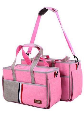 BENWEI Classics Pet Carrier,Portable Dog Cat Handbag Outdoor Soft Sided Pet Shoulder Bag Foldable Travel Tote,Under Seat… 3