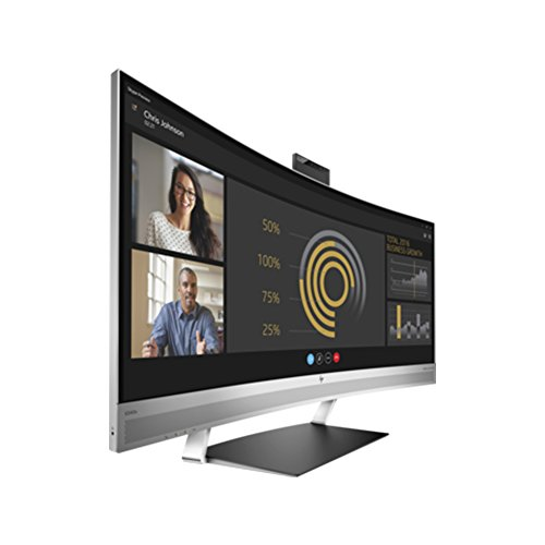 HP EliteDisplay S340C 83, 3cm 34Zoll QHD 3440x1440 IR Camera DP HDMI USB-C with Drive Power Webcam B&O Speakers