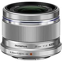 Olympus M.ZUIKO DIGITAL 25mm 1:1.8 Objektiv silber