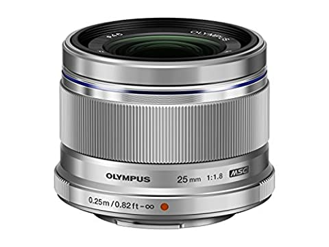 Olympus Objectif Zuiko Digital 25 mm f:1.8 - Argent