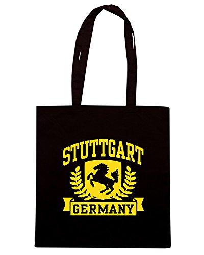 T-Shirtshock - Borsa Shopping TSTEM0210 stuttgart germany Nero
