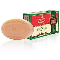 Mysore Sandal Centennial Bathing Soap, 400 g (Pack of 4)