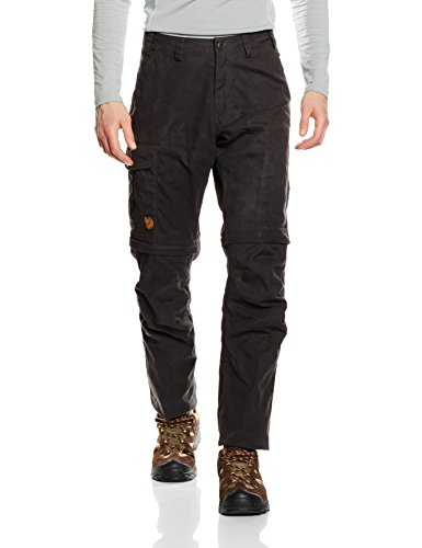 Fjällräven Herren Karl Pro Zip-Off Trousers Shorts Hose, Dark Grey, 54