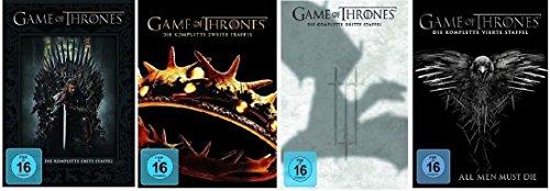 Game of Thrones - Staffel/Season 1+2+3+4 * DVD Set