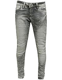 Blue Rebel - Garçons Enfants Jeans lavés regard, gris - 7142031