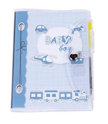 Billige billige disok–Notizbuch PVC Taufe Kind–Abriss Taufe, Baby Shower. Details und Erinnerungen