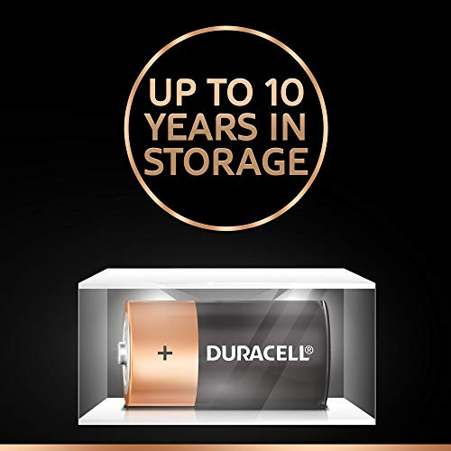 Best duracell power bank in India 2020 Duracell C Alkaline Battery with Duralock Technology (Black and Brown, Pack of 2) Image 4