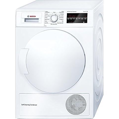 Bosch WTW83469IT Independiente Carga frontal 9kg A++ Color blanco - Secadora (Independiente, Carga frontal, Bomba de calor, A++, Color blanco, B)