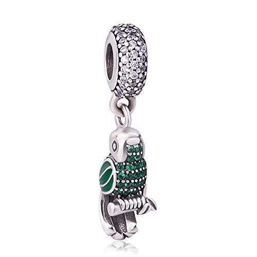 925er Sterlingsilber, Vogel-Charm-Anhänger für Pandora-Charm-Armbänder ()
