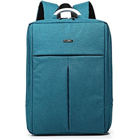 Hombre Mujeres 14.4 inch nylon multifunción maletín bandolera para ordenador portátil ordenador bolsa para iPad/ MacBook Pro/ MacBook Air/Notebook/Laptop/Ultrabook/Dell/Acer/Sony/Samsung/Lenovo