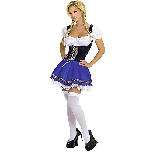 Für Jugendliche Sexy Kostüm - fagginakss Frauen Oktoberfest Kleid Dienstmädchen Sexy Kleid Pack Oktoberfest Cosplay Kostüm Oktoberfest Dienstmädchen Kostüm Kostüm Cosplay Dienstmädchen Kleid