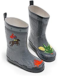 Kidorable Original Gebrandmarkt Gummistiefel, Regen Stiefel Dinosaurier für Jungen, Mädchen 32