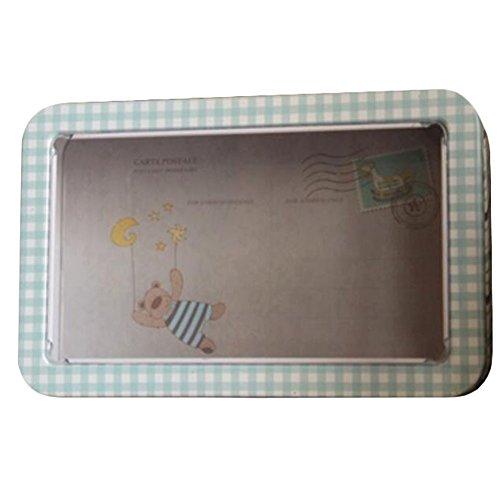 Gj Schokolade (Keksdosen Postkarte Aufbewahrungsboxen Plätzchen/Süßigkeiten/ Schokolade Verpackung-A4)