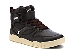 Sparx Mens Brown and Beige Running Shoes - 8 UK/India (42 EU)(SX9014G)