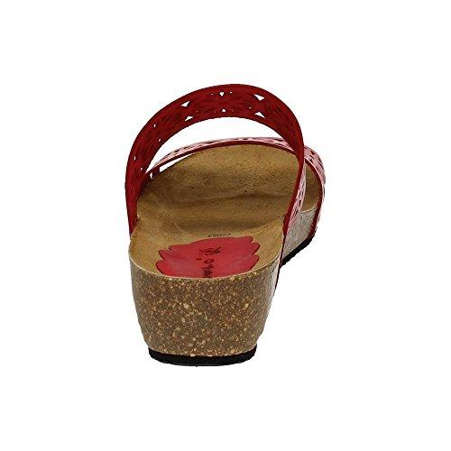 Dliro Donna sandali Rosso