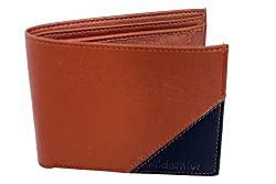 Wildantler Multicolor Tan Black Designer Mens Wallets