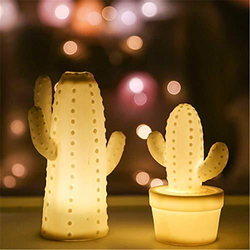 Kreative Ornamente Können Wohnzimmer Schlafzimmer Studie Hallendekoration Keramik Lampe Kaktus Weihnachtsdekoration Lampe Geschenk Hauptdekoration Beleuchtet Werden