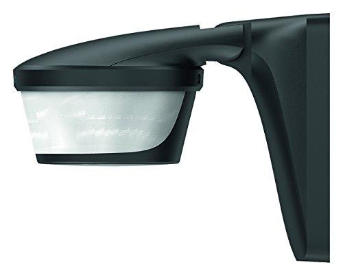 Theben, 1010606, Luxa P220 BK rilevatore di movimento per montaggio a parete oa soffitto, controllo di illuminazione, 220 gradi, massima 16 m, nero