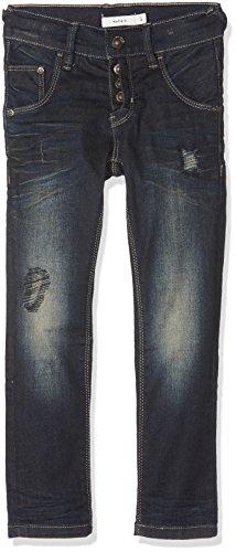 NAME IT Jungen Jeans Nittobo Dnm Xsl/Xsl Pant Nmt Noos, Blau (Dark Blue Denim), 152
