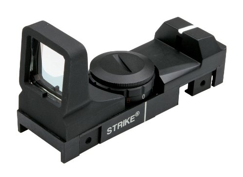STRIKE SYSTEMS RED & GREEN DOT SIGHT 21MM MOUNT SHOOTING AIRSOFT SCOPE (Mount Amp)
