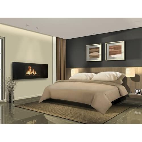 41aGbLvaAbL. SS500  - Celsi Electric Fire - Panoramic LCD Fireplace, Wall Mounted, 2 Heat Settings