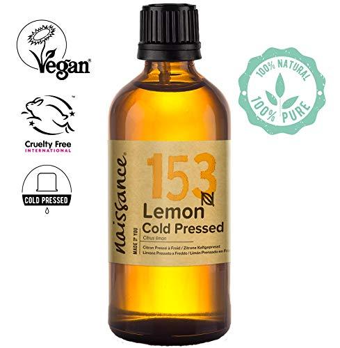Naissance Olio di Limone Pressato a Freddo - Olio Essenziale Puro al 100% - 100ml