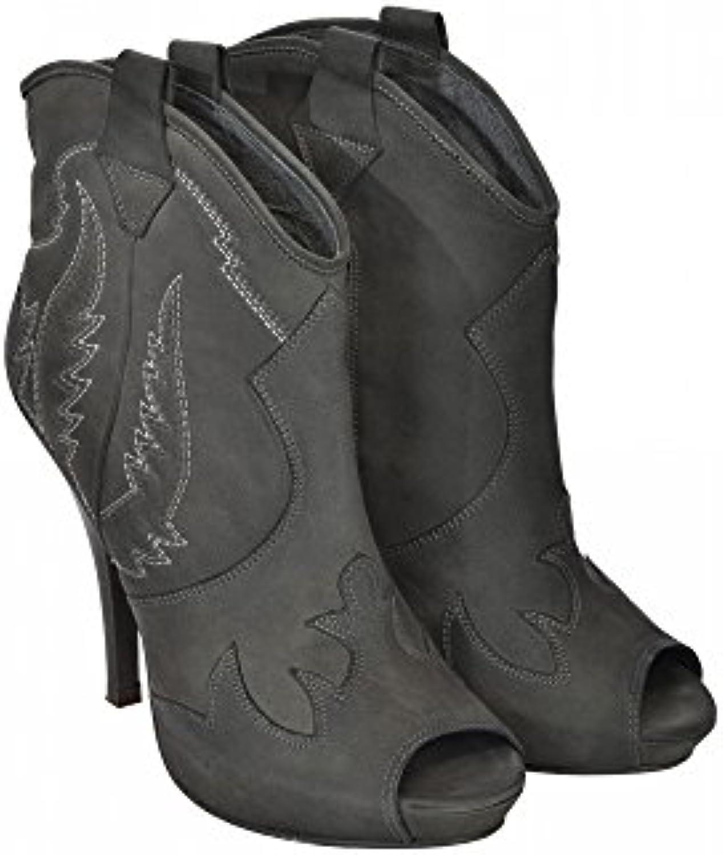 ASH Ankle stivali in Pelle Punta Tonda Aperta Cerniera Laterale Pelle 100% (41)   Acquista online    Maschio/Ragazze Scarpa