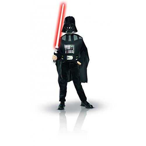 Star Wars Darth Vader Kinder Kostümset, 3-teilig mit Lichtschwert, für ()
